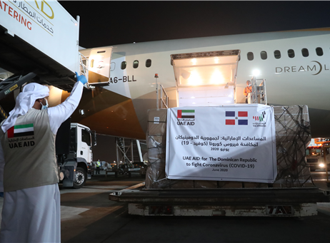 UAE sends medical aid to the Dominican Republic in fight...