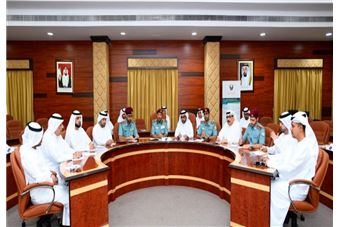 The Emergency and Crisis Management Team in Sharjah holds its Second Meeting