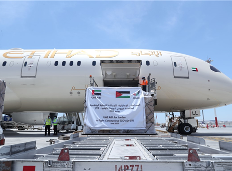 UAE sends medical aid to Jordan in fight against COVID-19