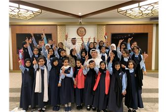 "The National Emergency and Crisis and Disasters Management Authority concludes its school-oriented ""Emergencies and Crises"" awareness lectures"