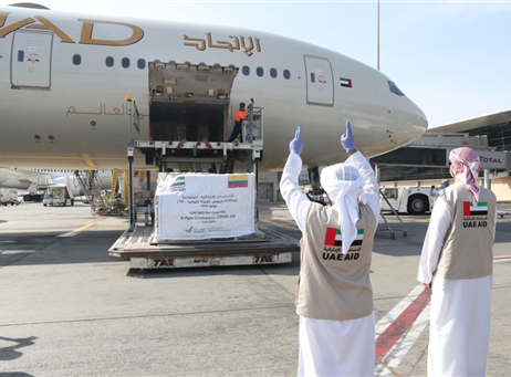 UAE sends medical aid to Colombia in fight against COVID-19