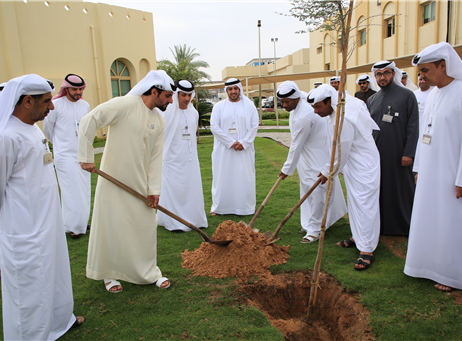 "NCEMA plants Ghaf tree to celebrate ""year of tolerance"""